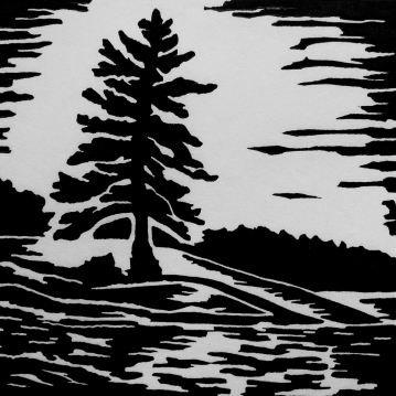 """Clear Lake 1, 4.75"""" x 4.75, Limited Edition"""""""